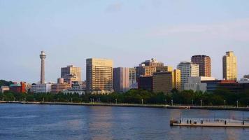 Skyline of Yokohama, Japan