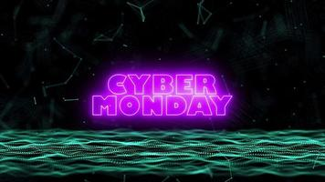 cibernética brilhante segunda-feira