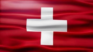 lazo de la bandera de suiza