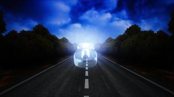 cuenta regresiva de viaje por carretera