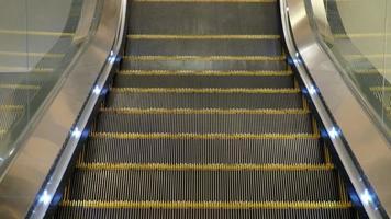 Empty Escalator Going Down