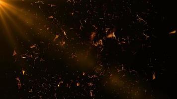 lindas partículas de plexo clipe de fundo de loop de vídeo 4k video