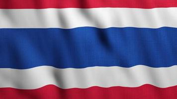 Thailand flag background