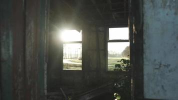 puerta con sunglare