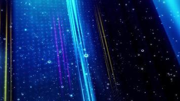 buceo abstracto en luces de fondo video