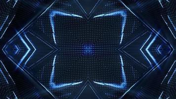 loop de fundo de câmara futurista video
