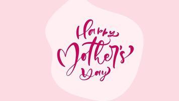 feliz dia de la madre texto con fondo de flores