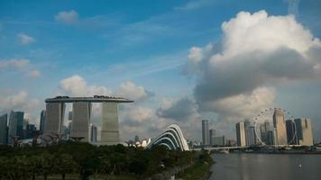 vista de monumentos de singapur