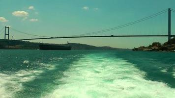 Bosphorus in Istanbul Turkey