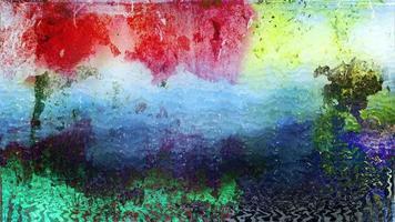 fondo de pared de arte colorido