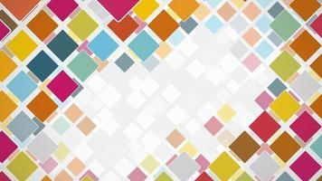 3d gráficos cubos de fundo video
