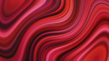 abstrakter nahtloser roter rosa lebhafter verdrehter Gradientenhintergrund video