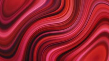 abstrato sem costura rosa vermelho vibrante fundo gradiente torcido video