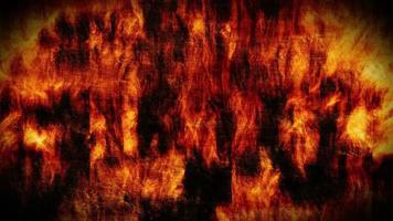 Fondo de pared de fuego grunge abstracto