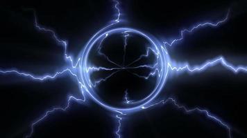loop di sfondo di fili elettrici