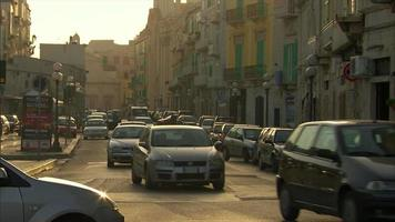 Traffic and cars in Italy video
