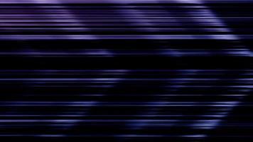 líneas horizontales brillantes dibujando una gran flecha sobre fondo negro 4k