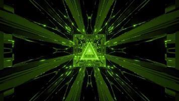 sfondo incandescente wireframe