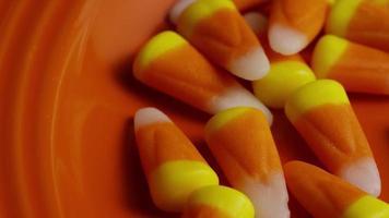 tiro giratório de milho doce de halloween - milho doce 010