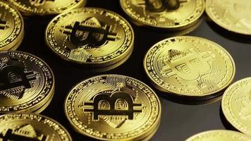 colpo rotante di bitcoin (criptovaluta digitale) - bitcoin 0002