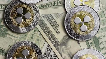 tiro giratório de bitcoins (criptomoeda digital) - ondulação de bitcoin 0222