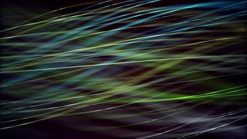 golven van licht 4k bewegende achtergrond