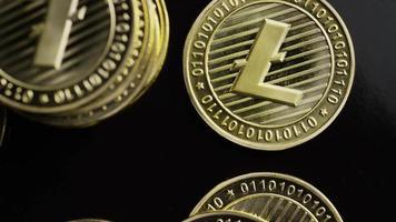 tiro giratório de bitcoins (criptomoeda digital) - bitcoin litecoin 345