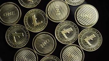 tiro giratório de bitcoins (criptomoeda digital) - bitcoin litecoin 270