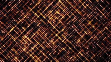 astratto hi tech linee di attraversamento sfondo loop video