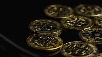 tiro giratório de bitcoins (criptomoeda digital) - bitcoin 0485