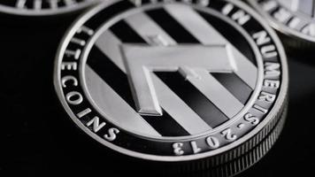 Tiro giratorio de bitcoins (criptomoneda digital) - bitcoin litecoin 401