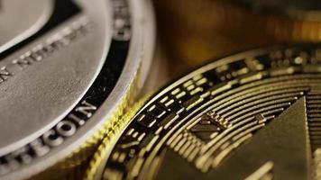 Tiro giratorio de bitcoins (criptomoneda digital) - bitcoin mixto 030