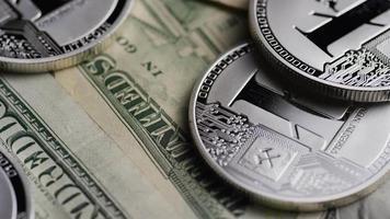 tiro giratório de bitcoins (criptomoeda digital) - bitcoin litecoin 642