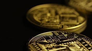 tiro giratório de bitcoins (criptomoeda digital) - bitcoin 0072