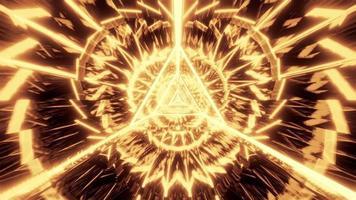 design triangolo d'oro