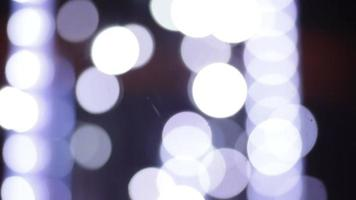 fondo abstracto de luces blancas