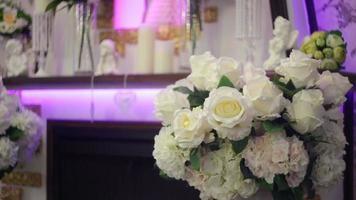 decoração de casamento de flores