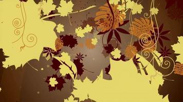 outono abstrato deixa o fundo