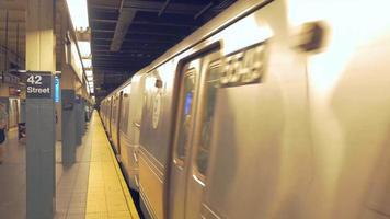 Passing Subway Train 4K