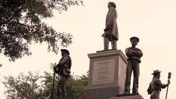 estátuas no texas