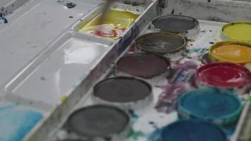 misturar aquarelas video