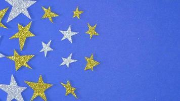 estrelas de ouro e prata video