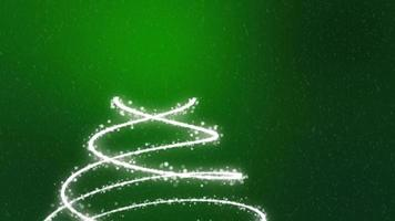 Christmas Tree Background - Merry Christmas green