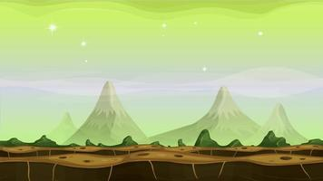 Fantasy Alien Mountains Hintergrundschleife video