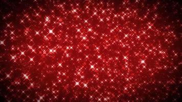 sfondo di particelle croce rossa astratta senza soluzione di continuità video