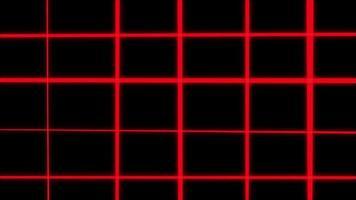 loop di sfondo wireframe griglia astratta
