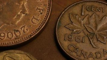 rotação de imagens de estoque de moedas monetárias internacionais - dinheiro 0380