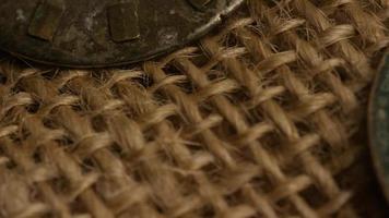 Imágenes de archivo giratorias tomadas de caras de relojes antiguas y desgastadas - caras de relojes 020