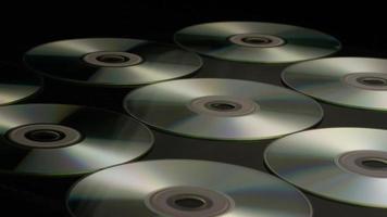 Disparo giratorio de discos compactos - cds 022