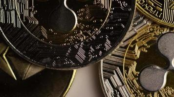 Tir rotatif de bitcoins (crypto-monnaie numérique) - bitcoin mixte 055